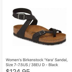 Birkenstock Yara Black Sandal